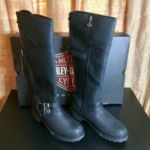 Harley-Davidson Lomita Riding Boot-Double Zippers